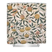 Pomegranate Design For Wallpaper Shower Curtain by William Morris