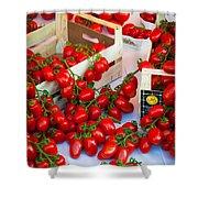 Pomodori Italiani Shower Curtain