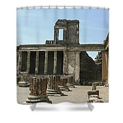 Pompeii 8 Shower Curtain