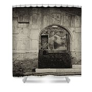 Pompeii Italy Shower Curtain
