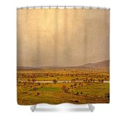 Pompton Plains. New Jersey Shower Curtain