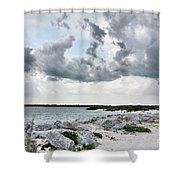 Ponce Inlet Mood Shower Curtain