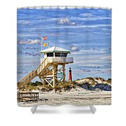 Ponce Inlet Scenic Shower Curtain