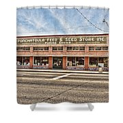 Ponchatoula Feed And Seed Shower Curtain