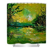 Pond 5431 Shower Curtain