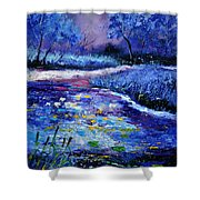 Pond 563111 Shower Curtain