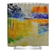Pond 883120 Shower Curtain