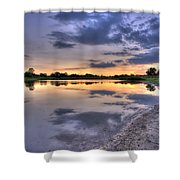 Pond Life Shower Curtain