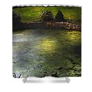 Pondshine Shower Curtain