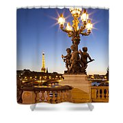 Pont Alexandre IIi - Paris Shower Curtain