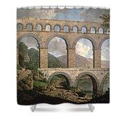 Pont Du Gard, Nimes Shower Curtain