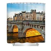 Pont Neu - Paris  Shower Curtain