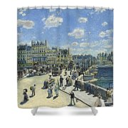 Pont Neuf Paris Shower Curtain