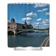 Pont Notre Dame Shower Curtain