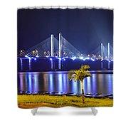 Ponte Estaiada De Aracaju - Construtor Joao Alves Shower Curtain