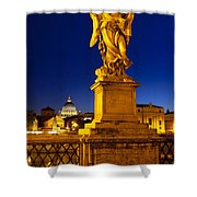 Ponte Sant Angelo Shower Curtain