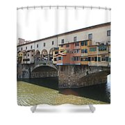 Ponte Vecchio - Florence Shower Curtain