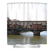 Ponte Vecchio I Shower Curtain