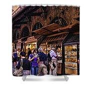 Ponte Vecchio Merchants - Florence Shower Curtain