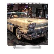 Pontiac Bonneville Shower Curtain