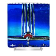 Pontiac Eight Shower Curtain