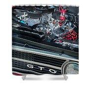 Pontiac G T O Shower Curtain