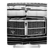 Pontiac Grand Ville Grille -0332bw Shower Curtain