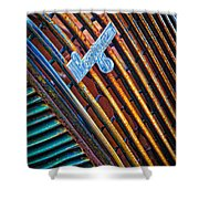 Pontiac Grille Shower Curtain