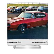 Pontiac Gto - 1964 1965 1966 1967 1968 Shower Curtain