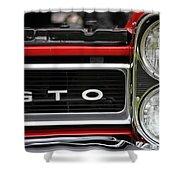 Pontiac Gto Front Shower Curtain