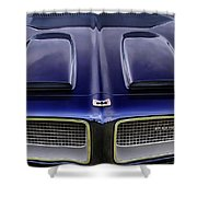 Pontiac Hood Shower Curtain