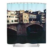 Ponto Vecchio Florence Palette Shower Curtain