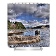 Pontsticill Reservoir 2 Shower Curtain