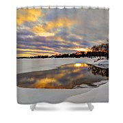 Pool Of Dreams Shower Curtain