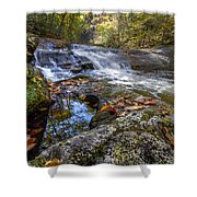 Pool Reflections Shower Curtain