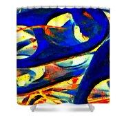Pop Art B13 Shower Curtain