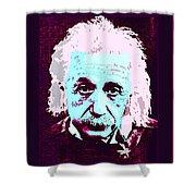 Pop Art Einstein No 3 Shower Curtain