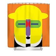 Pop Art People 11 Shower Curtain