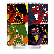 Pop Art Vader Shower Curtain