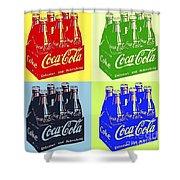 Pop Coke Shower Curtain