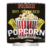 Popcorn Please Shower Curtain