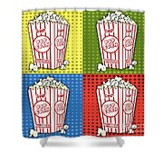 Popcorn Pop Art-jp2375 Shower Curtain