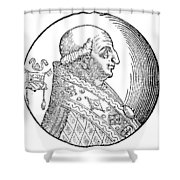Pope Gregory II (d Shower Curtain