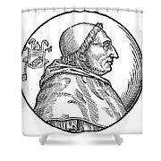 Pope Innocent Viii (1432-1492) Shower Curtain