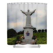 Pope John Paul II Shower Curtain
