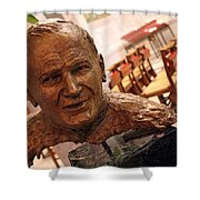 Pope John Paul II In St. Matthew's Cathedral -- 2 Shower Curtain