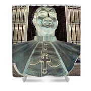 Pope John Paul The Second Shower Curtain