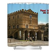 Popes Palace Shower Curtain