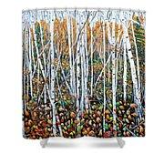 Poplar Art Shower Curtain