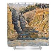 Poplar Cove Shower Curtain